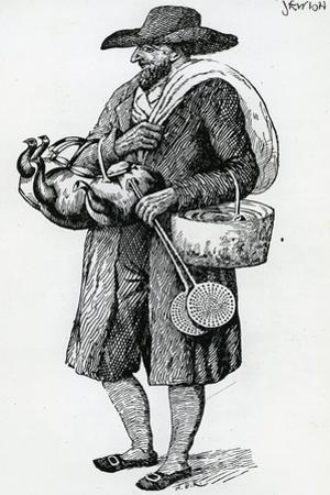 Jewish Hawker of Hamburg, Eighteenth Century
