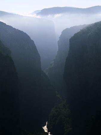 Verdon Canyon Through the Mist by Christophe Boisvieux