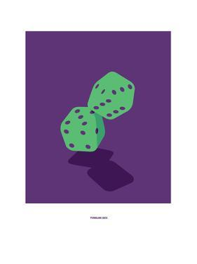 Tumbling Dice: Rolling Stones by Christophe Gowans