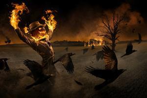 Jack-o\'-Scarecrow by Christophe Kiciak