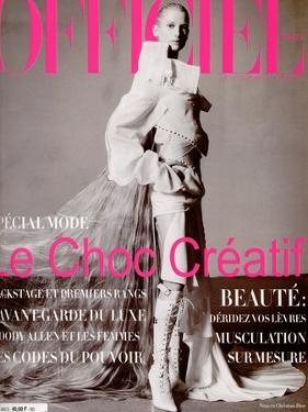 L'Officiel, March 2000 - Nina by Christophe Kutner