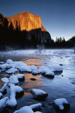 El Capitan and Merced River, Yosemite National Park, California, USA by Christopher Bettencourt