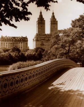 Central Park Bridge I by Christopher Bliss