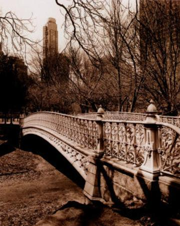 Central Park Bridge II by Christopher Bliss