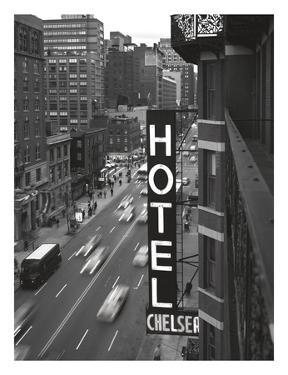 Chelsea Black and White by Christopher Bliss