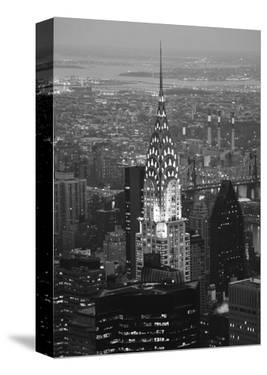 Chrysler at Night by Christopher Bliss