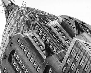 Chrysler Building Detail by Christopher Bliss