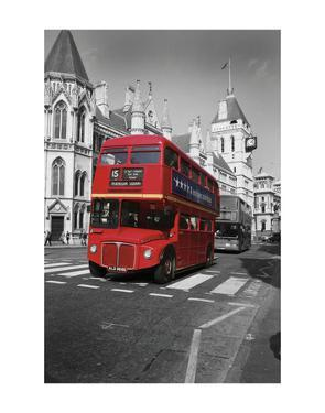 Red Bus London by Christopher Bliss