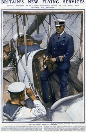 Britain's New Flying Services, WW1 by Christopher Clark