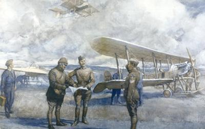 Royal Flying Corps Made by Christopher Clark