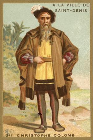 Christopher Columbus, Genoese Navigator