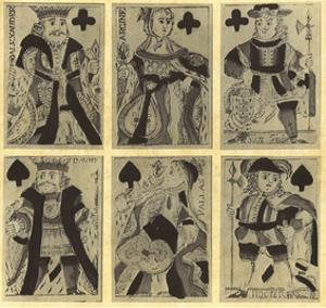 Christopher Ernst Susz (Playing Cards) Art Poster Print