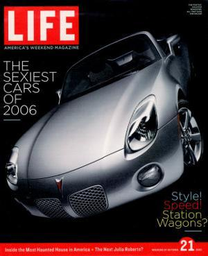 2006 Pontiac Solstice, October 21, 2005 by Christopher Griffith