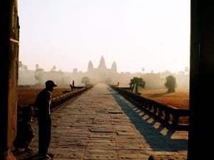 Angkor Wat at Dawn, Siem Reap, Cambodia by Christopher Groenhout