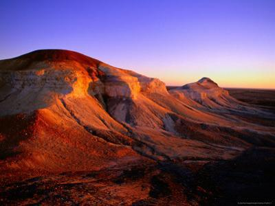 Breakaways at Dawn, Coober Pedy, South Australia by Christopher Groenhout