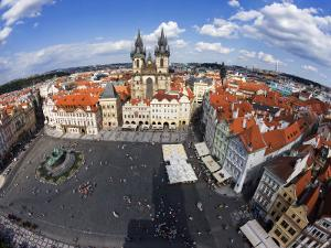 Old Town Square from Old Town Hall Tower by Christopher Groenhout