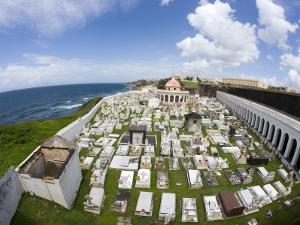 San Juan Cemetery, Old San Juan by Christopher Groenhout