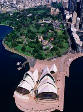 Sydney Opera House and Harbour, Sydney, Australia by Christopher Groenhout