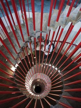 Tower Staircase Detail in Ljubljana Castle by Christopher Groenhout