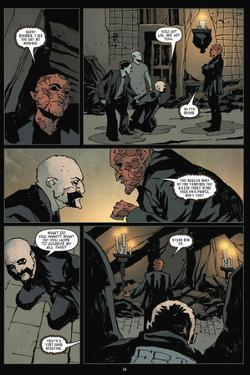 30 Days of Night: Volume 3 Run, Alice, Run - Comic Page with Panels by Christopher Mitten