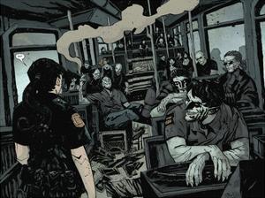 30 Days of Night: Volume 3 Run, Alice, Run - Page Spread by Christopher Mitten