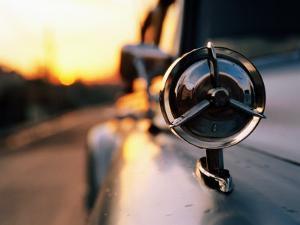 Side Mirror on 1950s Car, Santiago De Cuba, Cuba by Christopher P Baker