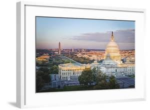 Cityscape of Washington DC, USA by Christopher Reed