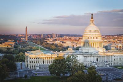 Cityscape of Washington DC, USA