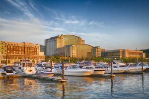 Sunset Light on National Harbor, Prince Georges County, Maryland, USA by Christopher Reed
