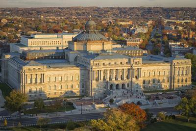 USA, Washington DC. The Jefferson Building of the Library of Congress.