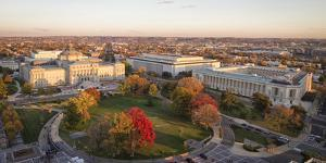 USA, Washington DC. The Library of Congress and Canon House Office. by Christopher Reed