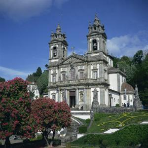 18th Century Bom Jesus Do Monte Church in the City of Braga in the Minho Region, Portugal by Christopher Rennie