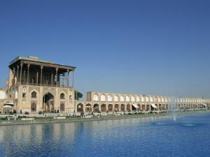 Ali Qapu Palace on Imam Square, Isfahan, Iran, Middle East by Christopher Rennie