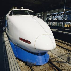 Bullet Train, Tokyo, Japan by Christopher Rennie