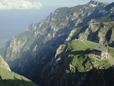 Cabana Caraiman, Bucegi Mountains, Transylvania, Romania, Europe by Christopher Rennie