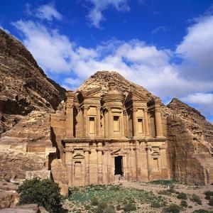 El Deir Monastery, Petra, Jordan by Christopher Rennie