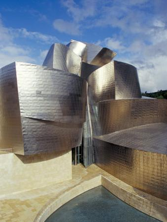 Guggenheim Museum, Designed by American Architect Frank O. Gehry, Opened 1997, Bilbao