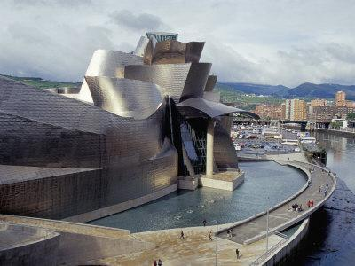 Guggenheim Museum, Opened in 1997, Bilbao, Spain