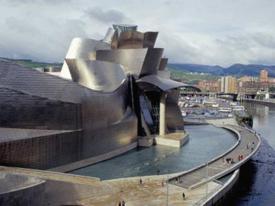 Guggenheim Museum, Opened in 1997, Bilbao, Spain by Christopher Rennie