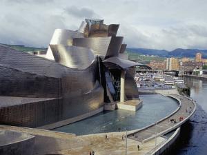 Guggenheim Museum, Opened in 1997, Bilbao, Spain by Christopher Rennie