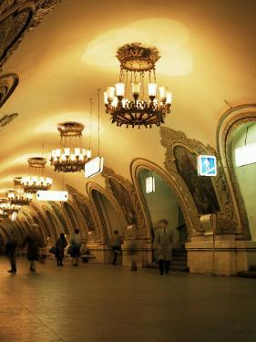 Kievskaya Metro Station, Moscow, Russia by Christopher Rennie