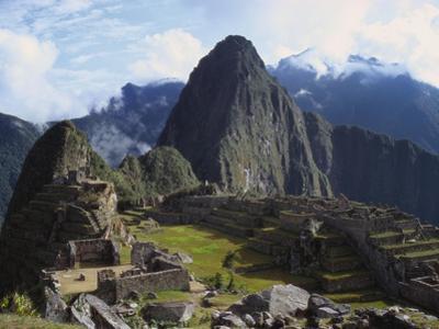 Machu Picchu, Peru, South America by Christopher Rennie