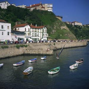 Old Port at Getxo, an Atlantic Resort at the Mouth of the Bilbao River, Pais Vasco, Spain, Europe by Christopher Rennie