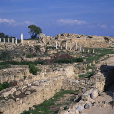 Roman Odeon Concert Venue and Hellenistic and Roman Gymnasium in Salamis, North Cyprus