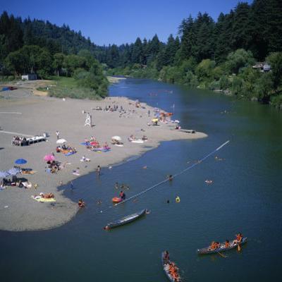 Russian River at Monte Rio, Sonoma County, California, USA by Christopher Rennie