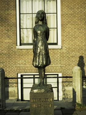 Statue of Anne Frank, Amsterdam by Christopher Rennie