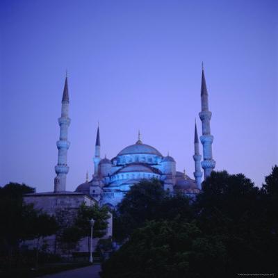 Sultan Ahmet Mosque (Blue Mosque) 1609-1616, Istanbul Turkey, Eurasia by Christopher Rennie