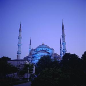 Sultan Ahmet Mosque (Blue Mosque) 1609-1616, Istanbul Turkey, Eurasia by Christopher Rennie