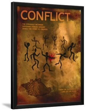 Conflict (Lord of the Flies) - Element of a Novel by Christopher Rice