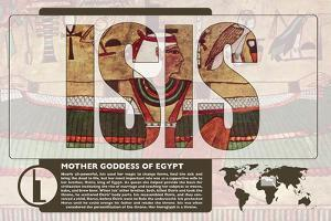 Isis World Mythology Poster by Christopher Rice